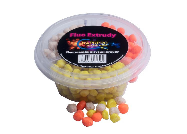 Fluo extrudy - HALIBUT 3x80ml